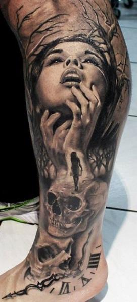 leg-tattoos-portrait-mens