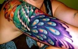 peacock-feather-tattoo-arm-sleeve