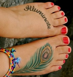 peacock-feather-tattoo-feet]