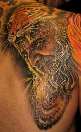 shoulder-blade-tattoos-portrait