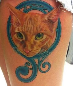 thigh-tattoos-pet-cat-girls