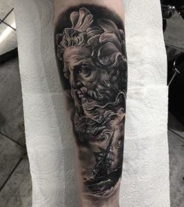 Poseidon Tattoo 53 Aquarius Tattoo Ideas To Inspire You