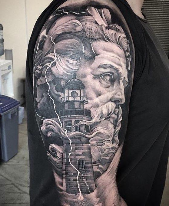 Danny Truong Poseidon Tattoo