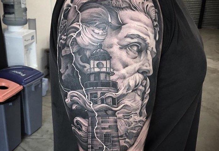 Poseidon Tattoos