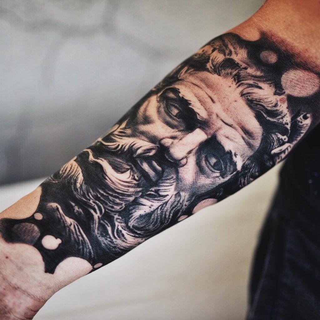Poseidon Tattoo by Kordian Korsakowski
