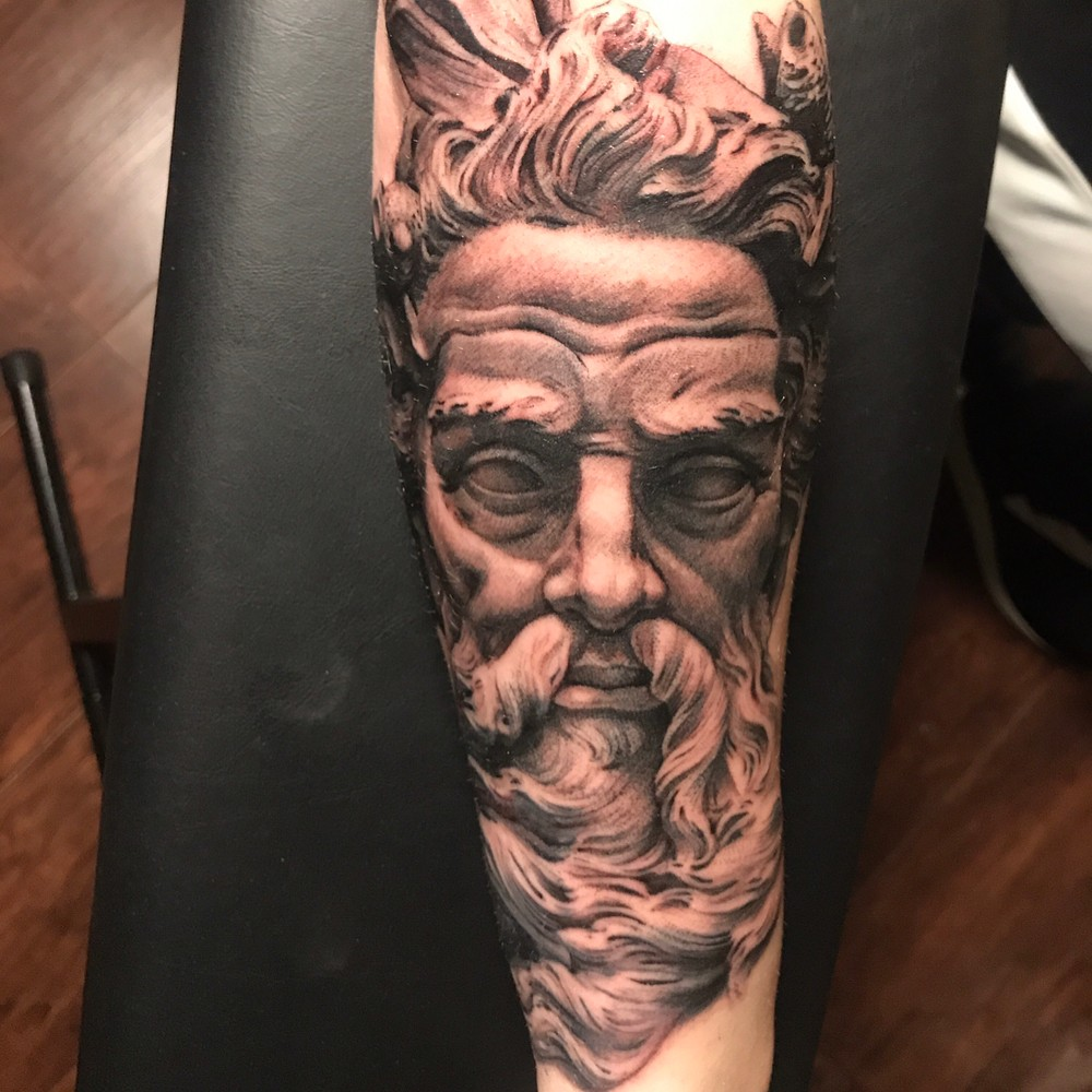 Poseidon Taattoo by Mr.Konejo