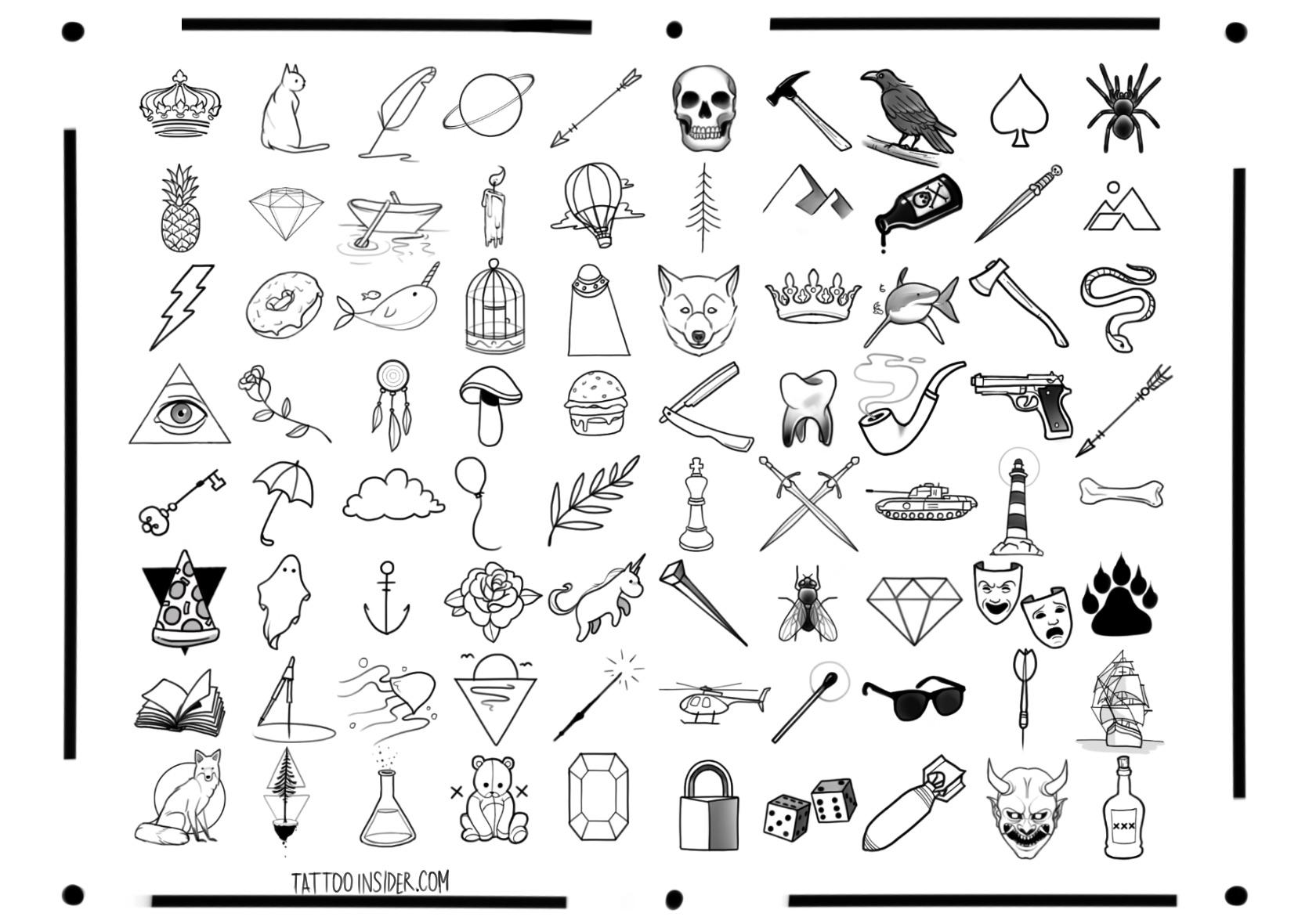 80 Free Small Tattoo Designs