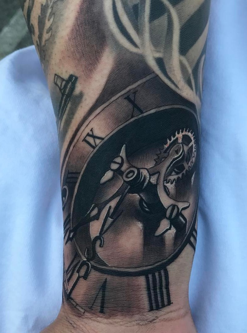 Clock Tattoo by JesusArt