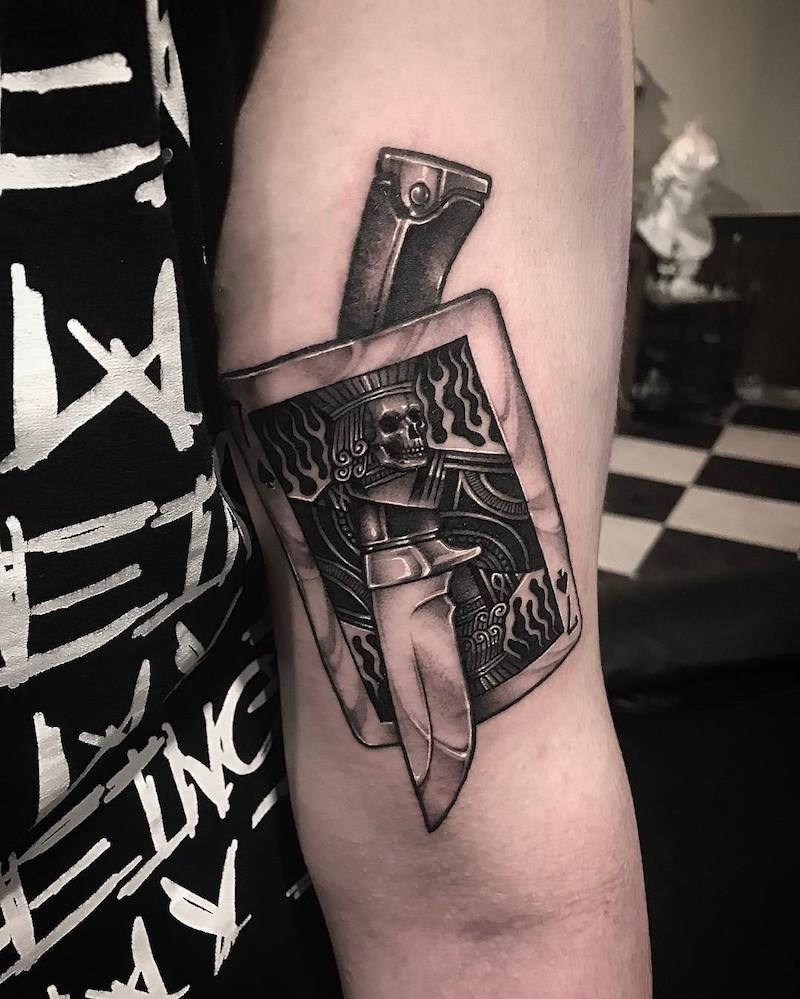King Tattoo Design 2 by Gara Tattooer