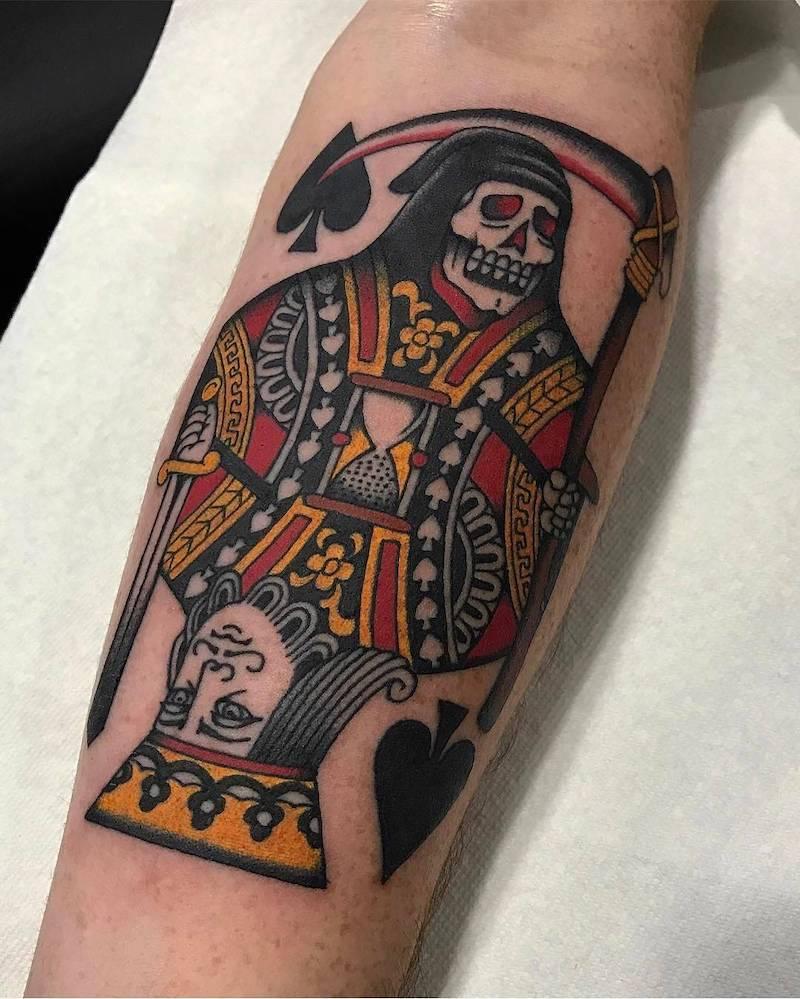 King Tattoo by Bradley Kinney
