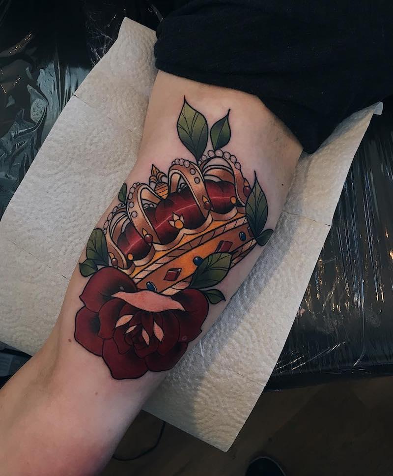 King Tattoo by Karmely Sõrmus