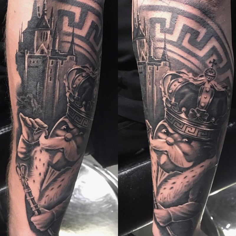 King Tattoo by Sir Focus