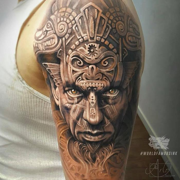 Aztec Tattoo by Arlo DiCristina