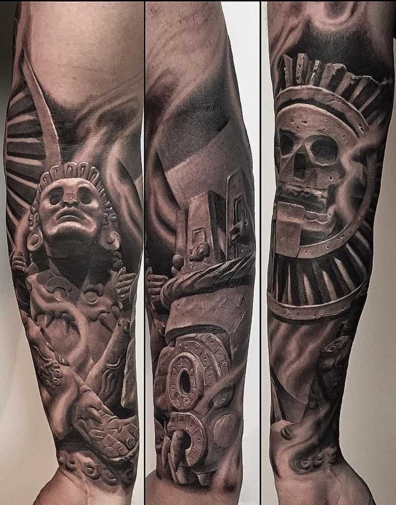 Aztec Tattoo by Greg Nicholson