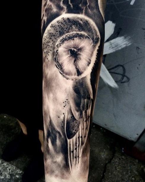 Owl Tattoo Paolo Murtas