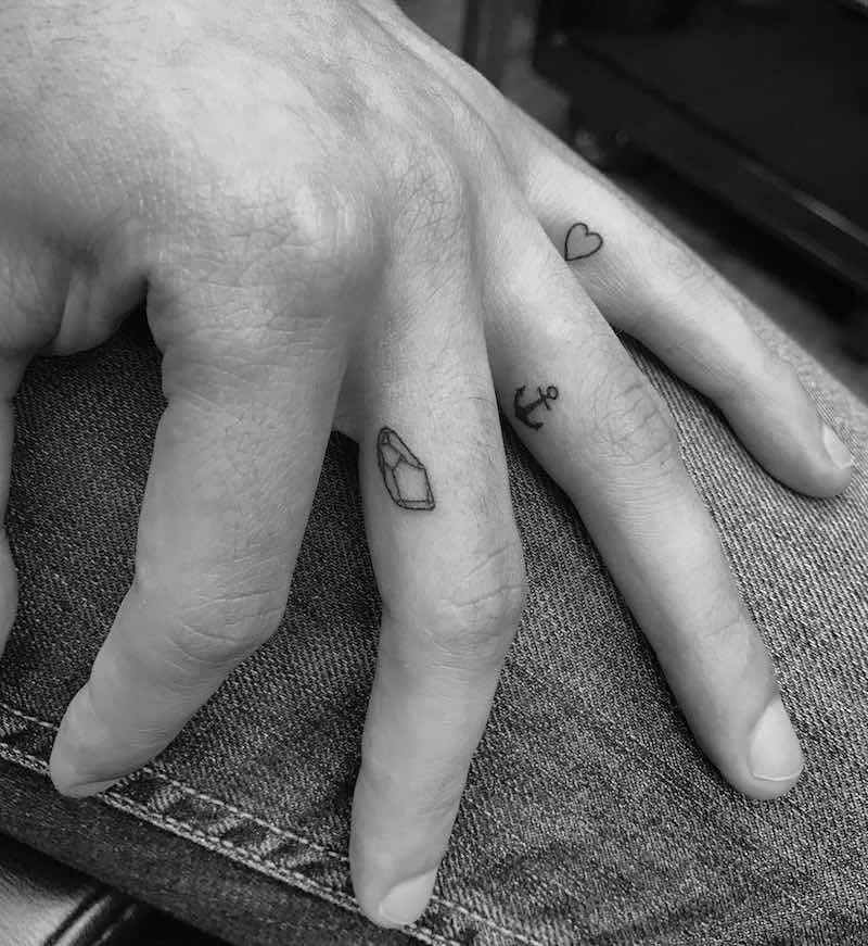 Small Tattoos by Christopher Vasquez