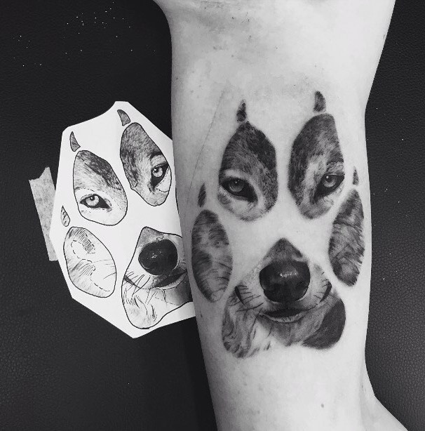 Wolf Tattoo by Liam Joseph