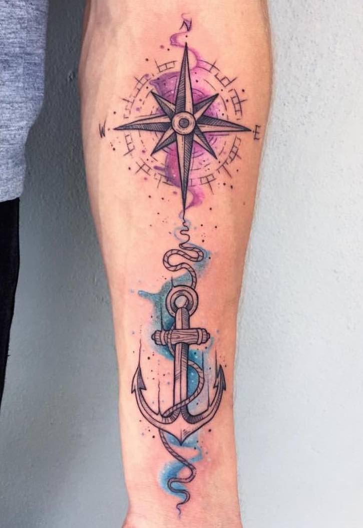 Anchor Tattoo by Charl Steyn