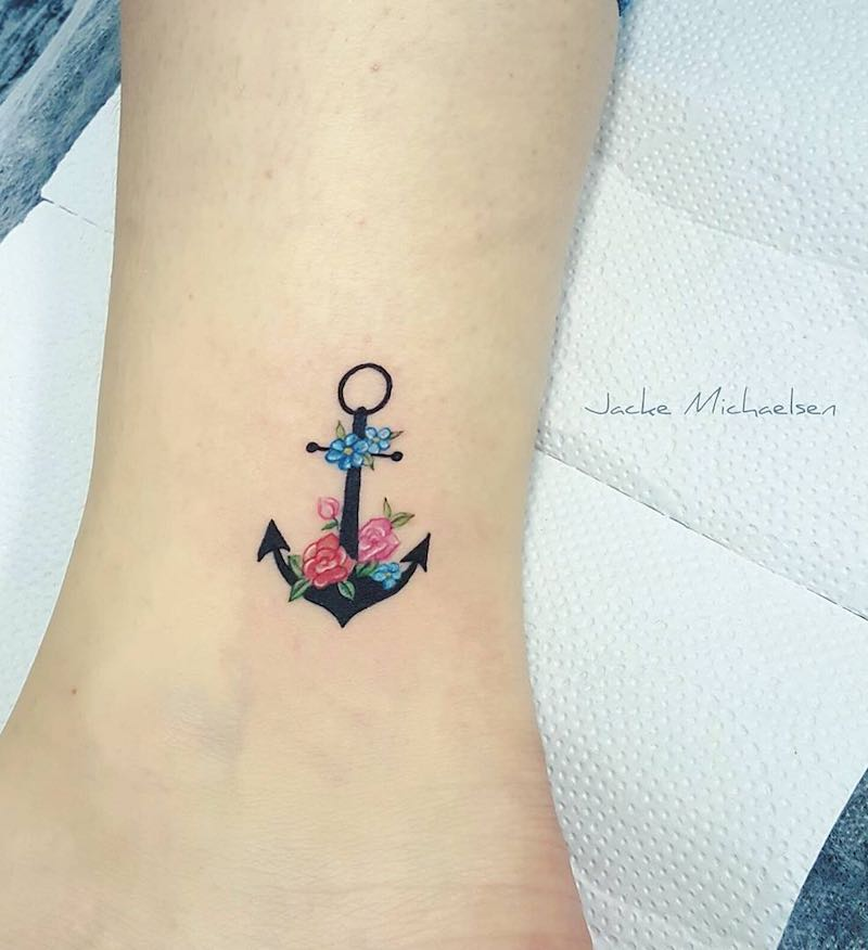 Anchor Tattoo by Jacke Michaelsen