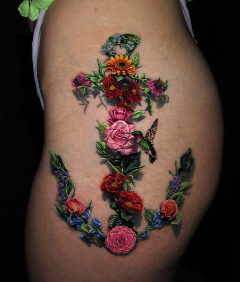Anchor Tattoo by Jamie Schene