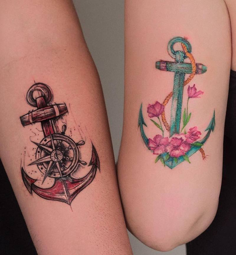 Anchor Tattoo by Robson Carvalho
