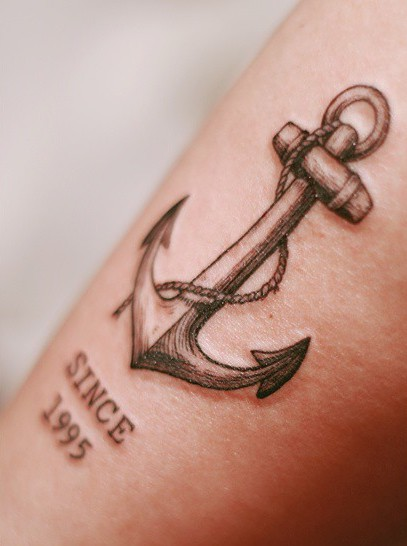 Anchor Tattoo by Seoeon