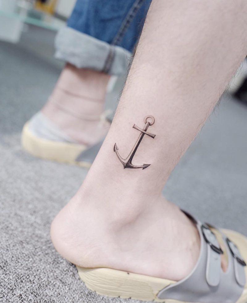 Anchor Tattoo by Tattooist Banul
