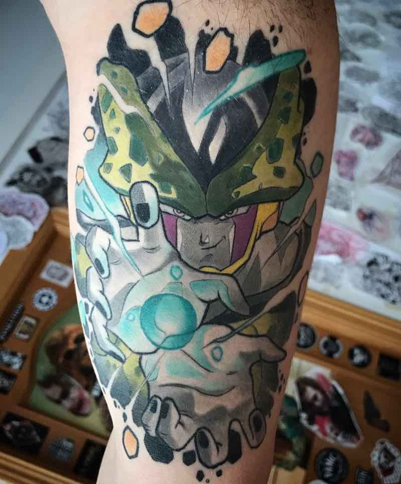 Cell Tattoo by Oash Rodriguez