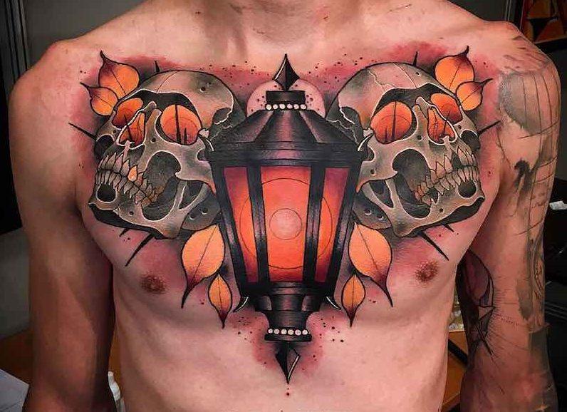 Chest Piece Tattoos