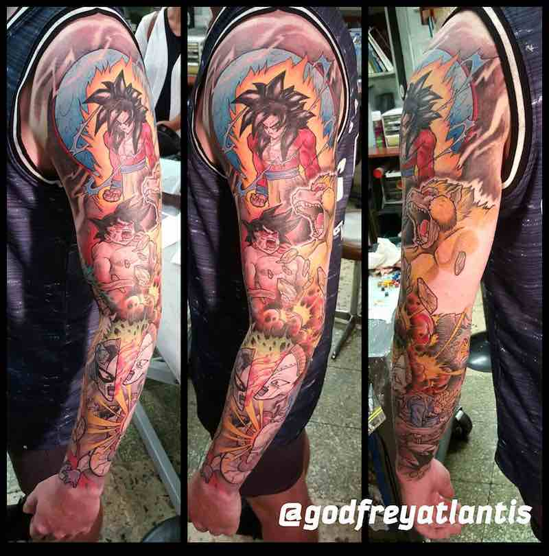 Dragon Ball Z Tattoo - Godfrey Atlantis