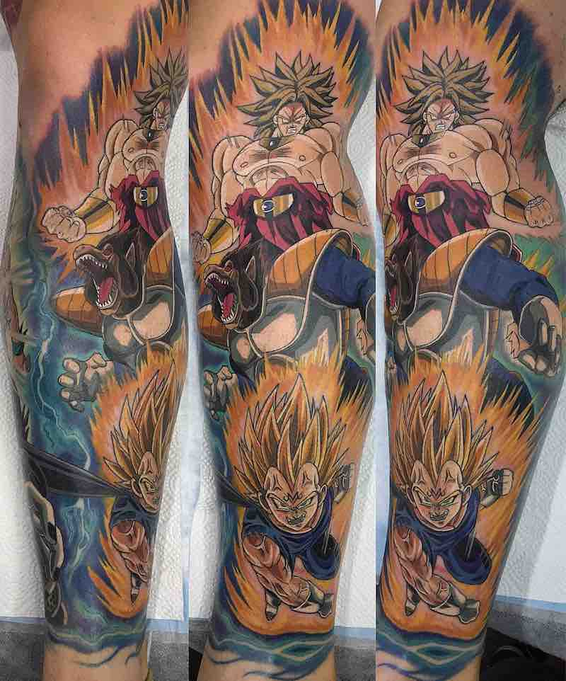 Dragon Ball Z Tattoo Sleeve by Ry Tattoomiester-