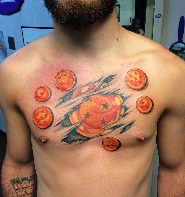 Dragon Ball Z Tattoo by Vince Cardenas