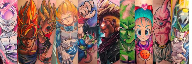 Dragon Ball Z Tattoos