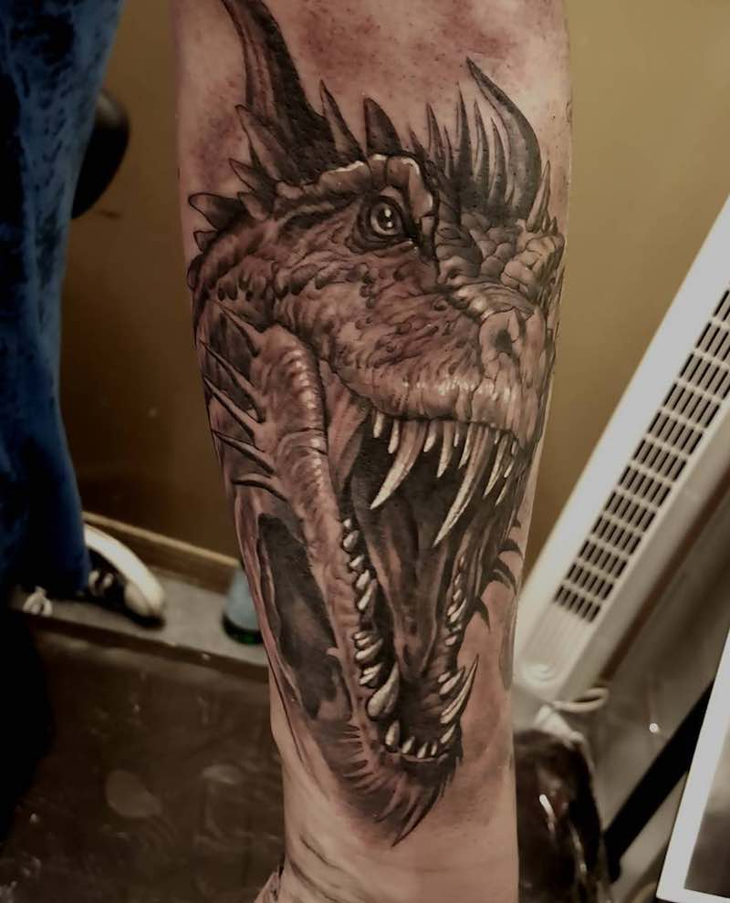 Dragon Tattoo by Freddy Negrete