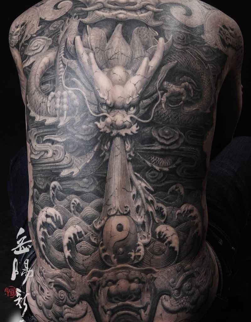 Dragon Tattoo by Heng Yue