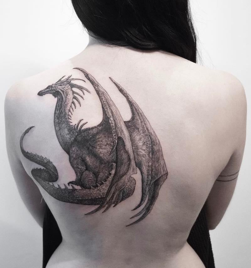 Dragon Tattoo by Hongdam