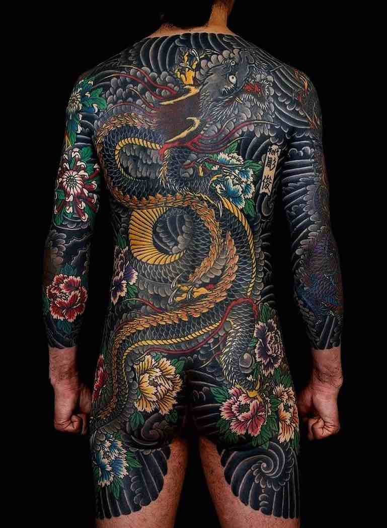 Dragon Tattoo by Horitoshi