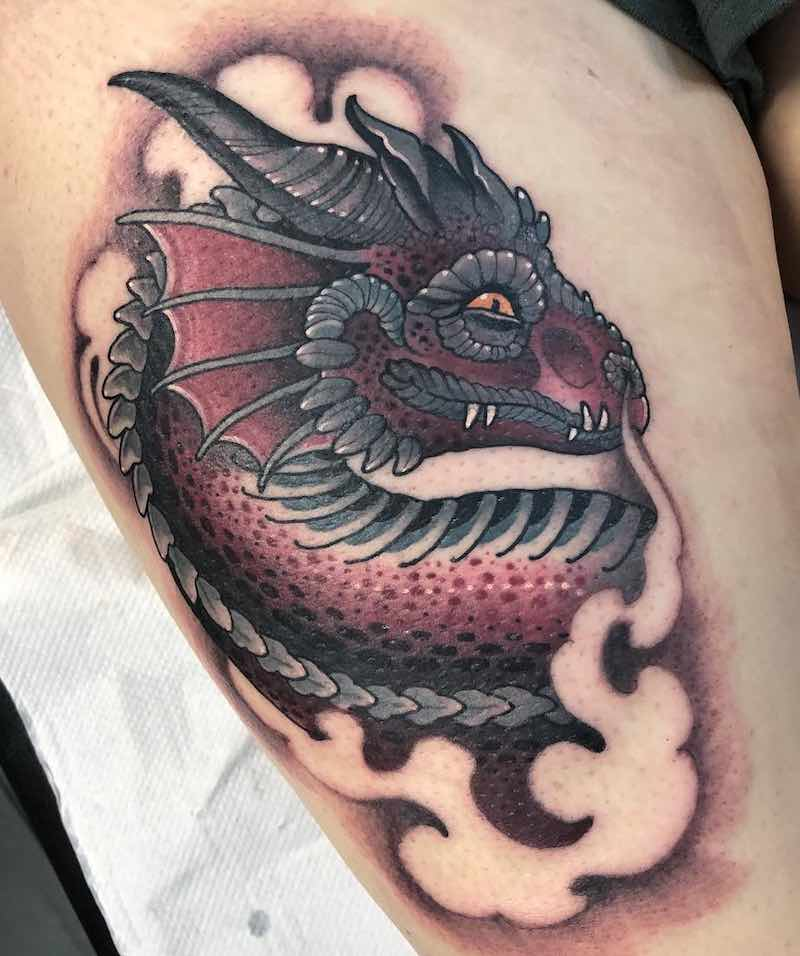Dragon Tattoo by Jean Le Roux