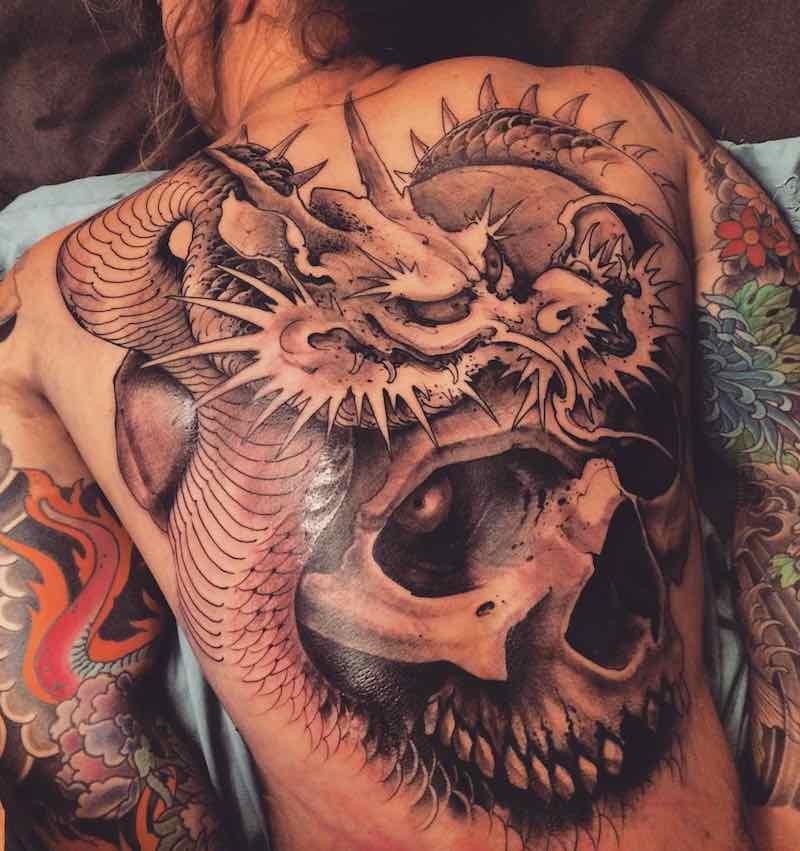 Dragon Tattoo by Joao Bosco