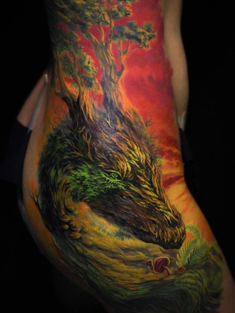 Dragon Tattoo by Nika