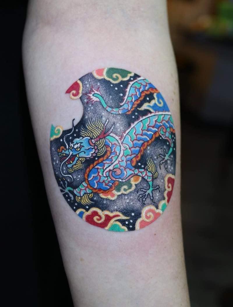 Dragon Tattoo by Pitta
