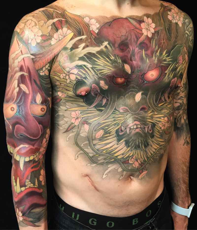 Dragon Tattoo by Shige