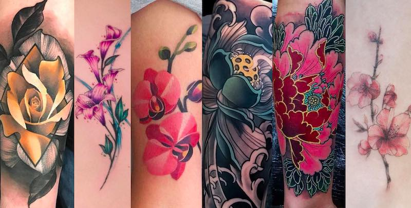 117 Of The Very Best Flower Tattoos