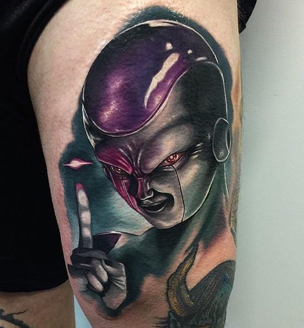 Frieza Tattoo by Audie Fulfer jr