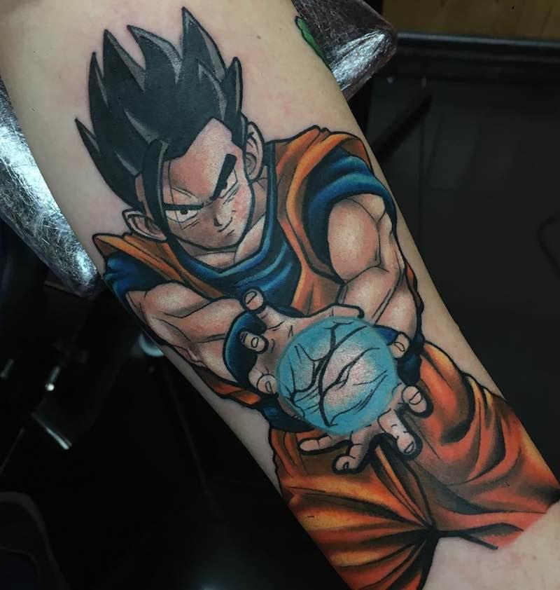 Gohan Tattoo by Craig Holmes
