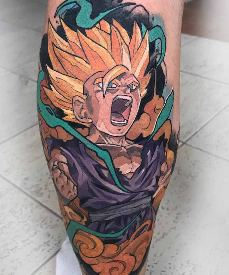 Gohan Tattoo by Oash Rodriguez