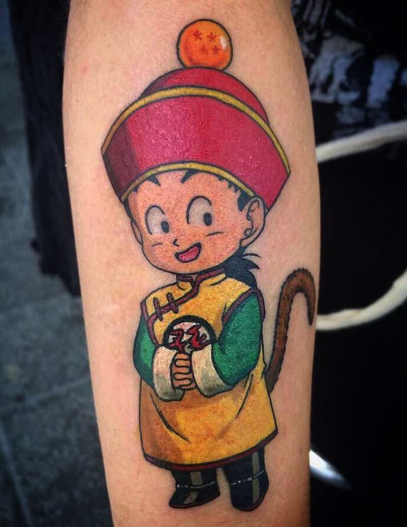 Gohan Tattoo by Ray Dos