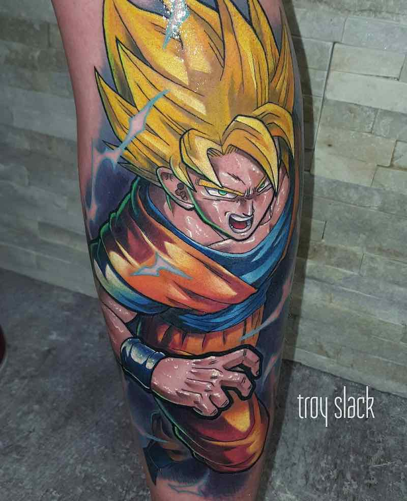 Goku Tattoo by Troy Slack -