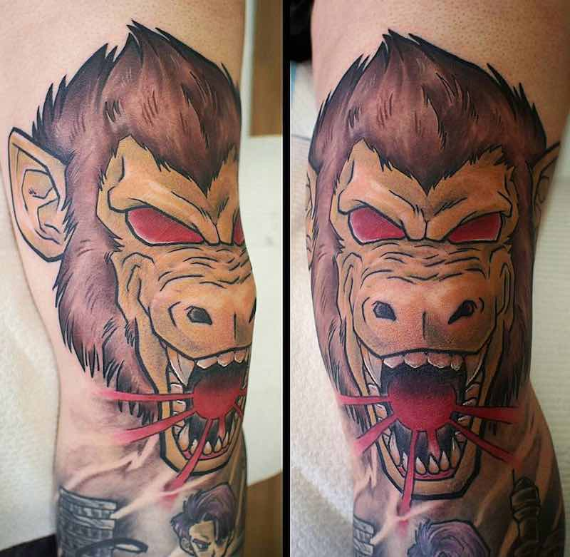 Great Ape Tattoo by Godfrey Atlantis