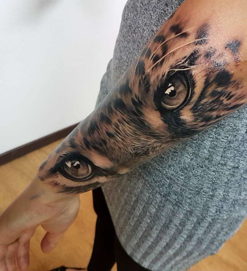 Jaguar Tattoo by Amayra